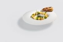 14-shrimps-on-the-grill-green-curry-avocado-and-corn_langostino-a-la-parrilla-al-guiso-de-curry-verde-aguacate-y-maiz-quique-dacosta-2016pelut-i-pelat